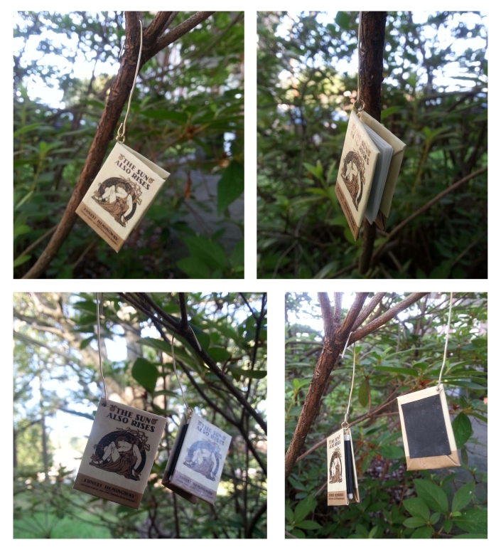 Book ornaments