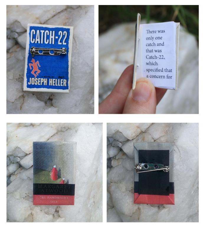 Book pins